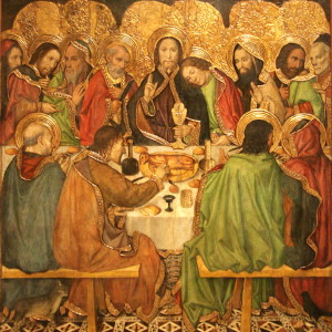 Jaume_Huguet_-_Last_Supper_-_WGA11797