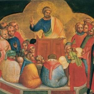 17_Lorenzo_Veneziano-_Apostle_Peter_Preaching._1370_Staatliche_Museen-_Berlin.