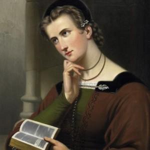 Braet_von_-C3-9Cberfeldt_woman_with_bible_1866
