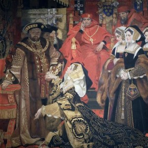 Henry_VIII_and_Catherine_of_Aragon_before_Papal_Legates_at_Blackfriars-_1529