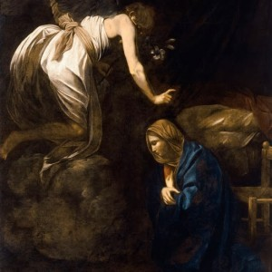 Annunciation-Caravaggio