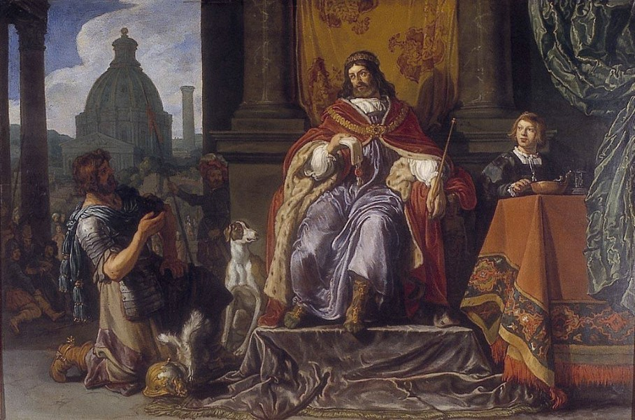 Pieter Lastman, David Handing Over a Letter to Uriah (1619)