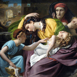 François-Joseph Navez, The Massacre of the Innocents (1824)
