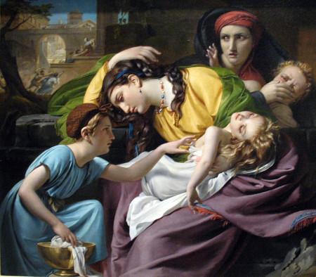 François-Joseph Navez, The Massacre of the Innocents (1824)
