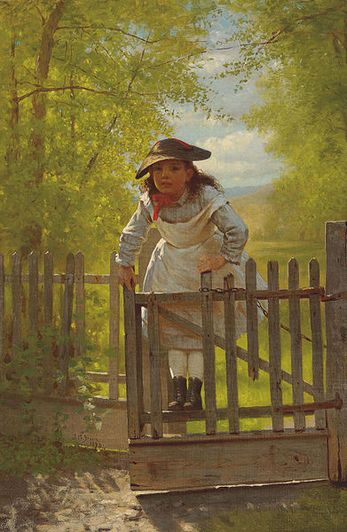 John George Brown, The Tomboy (1873)