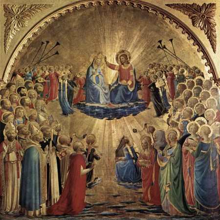 Fra Angelico, The Coronation of the Virgin (1435)