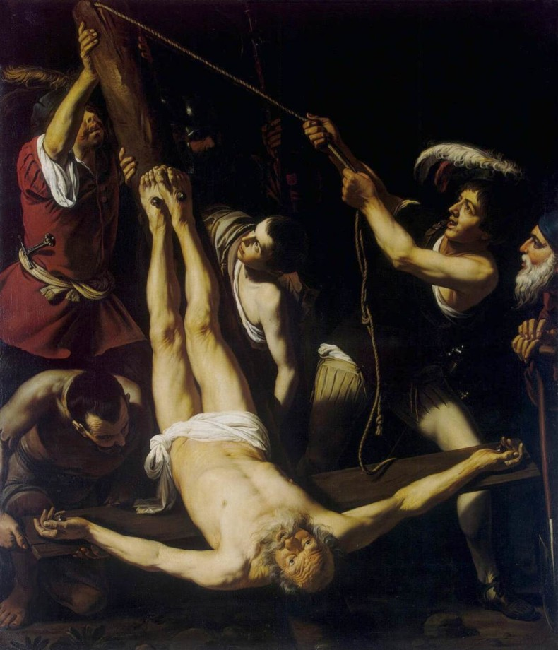 Leonello Spada, The Martyrdom of Saint Peter (17th c.)