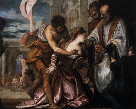 Paolo Veronese, The Martyrdom and Last Communion of Saint Lucy (1582)