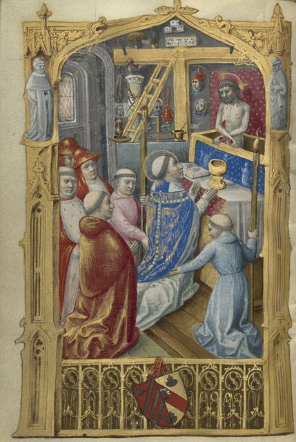 Master of Jacques de Besançon, Mass of St Gregory (c. 1500)