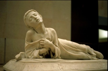Alexandre Falguière: Tarcisius, Christian Martyr (1868)