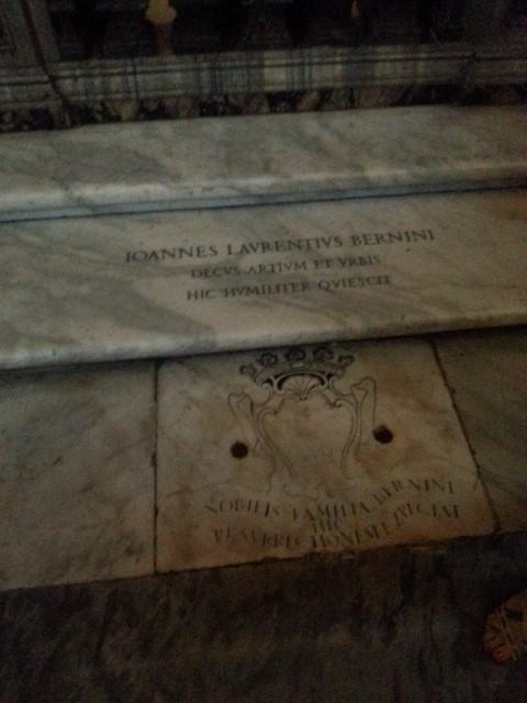The Tomb of Gianlorenzo Bernini