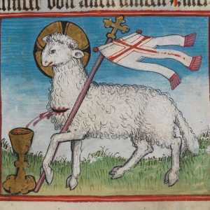 Lamb of God, Waldburg Prayer Book (1486)