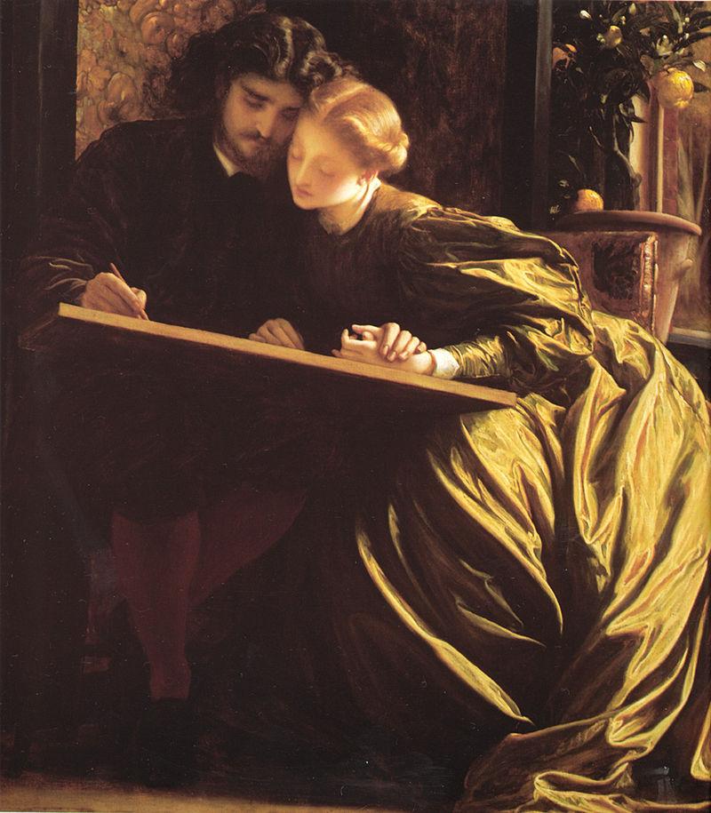 Frederic Leighton, The Painter's Honeymoon (1864)