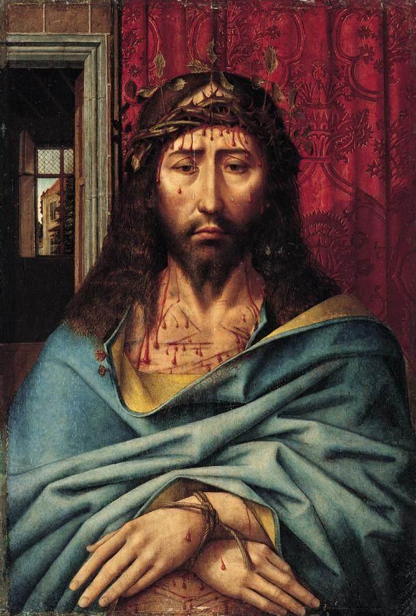 Colijn de Coter, Christ as the Man of Sorrows (1500)