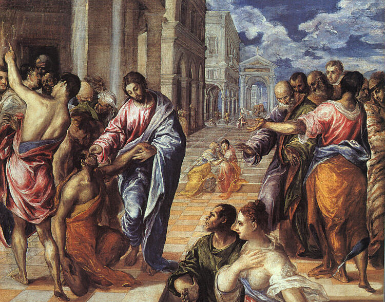 El Greco, Christ Healing the Blind (1575)