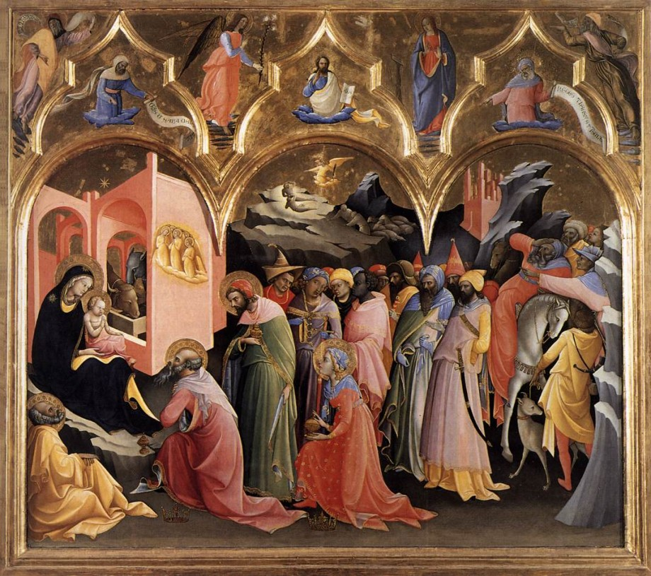 Lorenzo Monaco, Adoration of the Magi (1422)