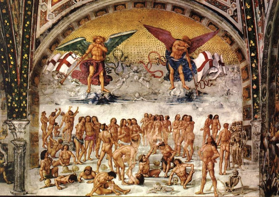 Luca Signorelli, Resurrection of the Flesh (1502)