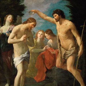 Guido Reni, Baptism of Christ (1623)