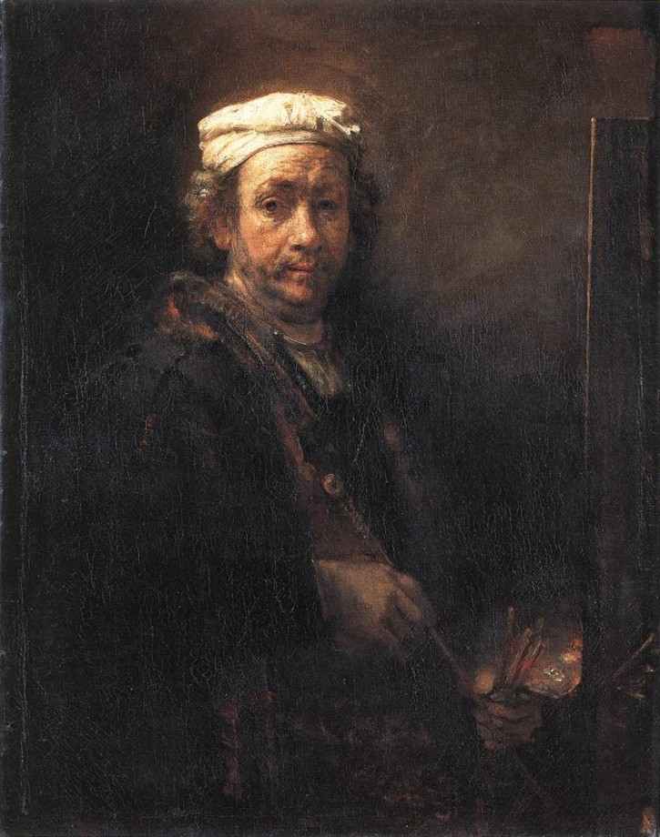 Rembrandt, Self-Portrait (1660)