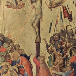 Simone Martini, Crucifixion, Orsini Altarpiece (1333)
