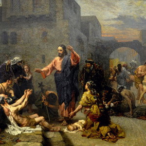 Gebhard Fugel, Christ Heals the Sick (1885)