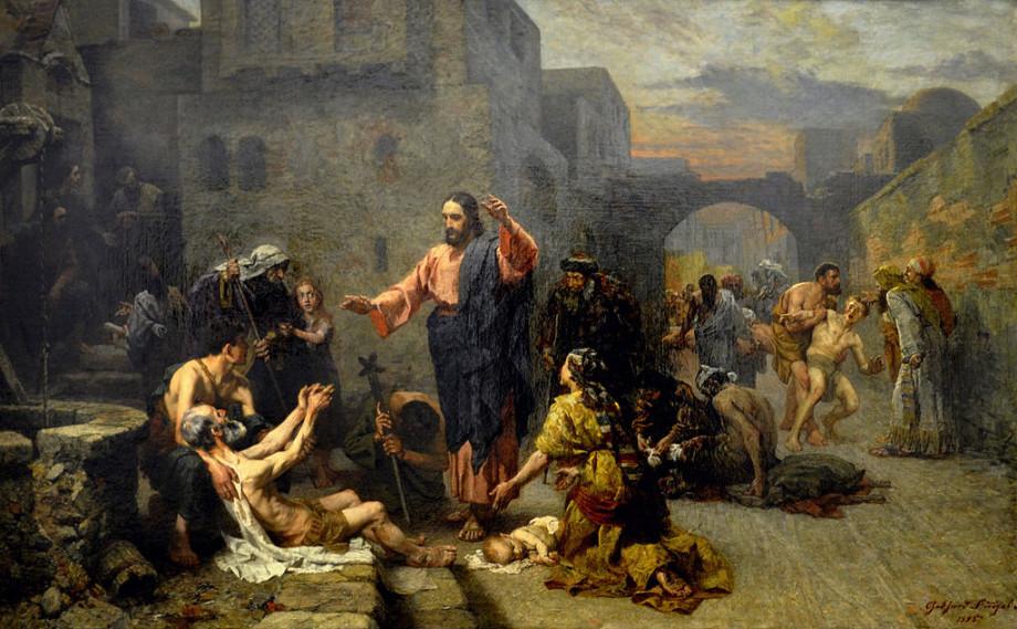Gebhard Fugel, Christ Heals the Sick (1885)