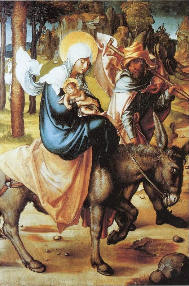 Albrecht Dürer, Flight into Egypt (1494)