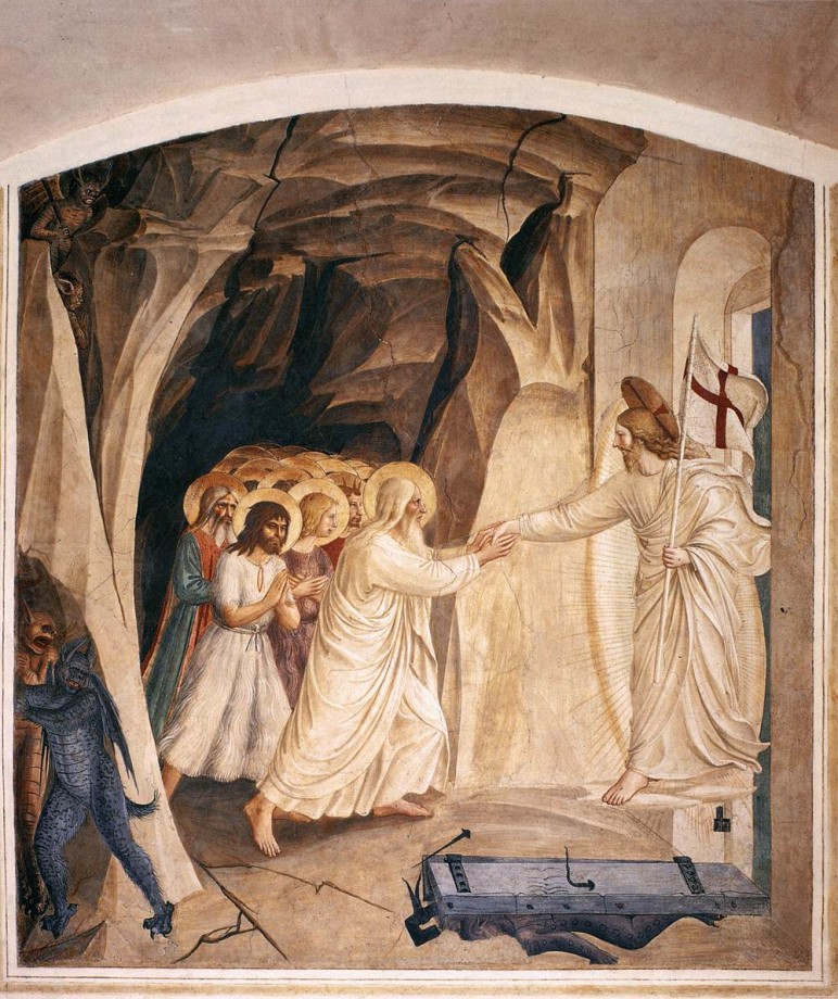 Fra Angelico, Christ in Limbo (1442)