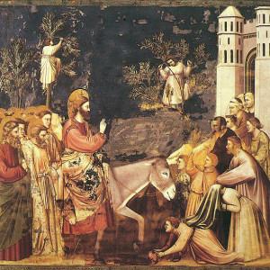 Giotto, Entry into Jerusalem (1305)