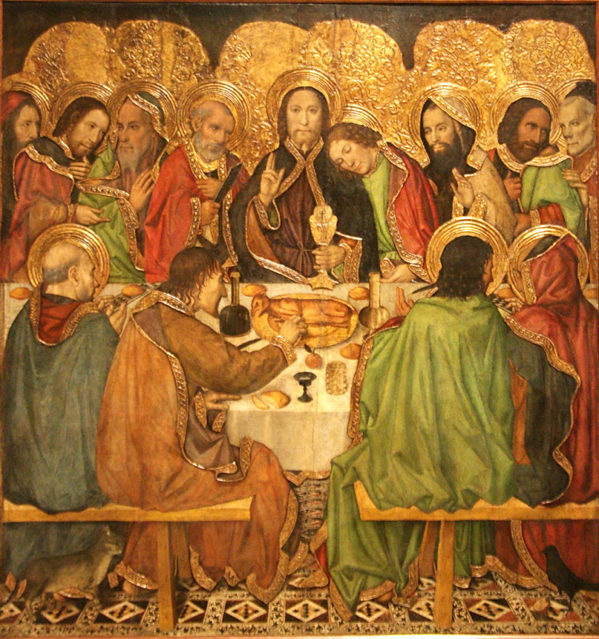 Jaume Huguet, Last Supper (1470)