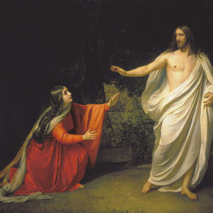 Alexander Andreyevich Ivanov, Appearance of Jesus Christ to Maria Magdalena (1835)