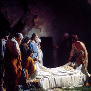 Carl Bloch, Burial of Christ (19th c.)