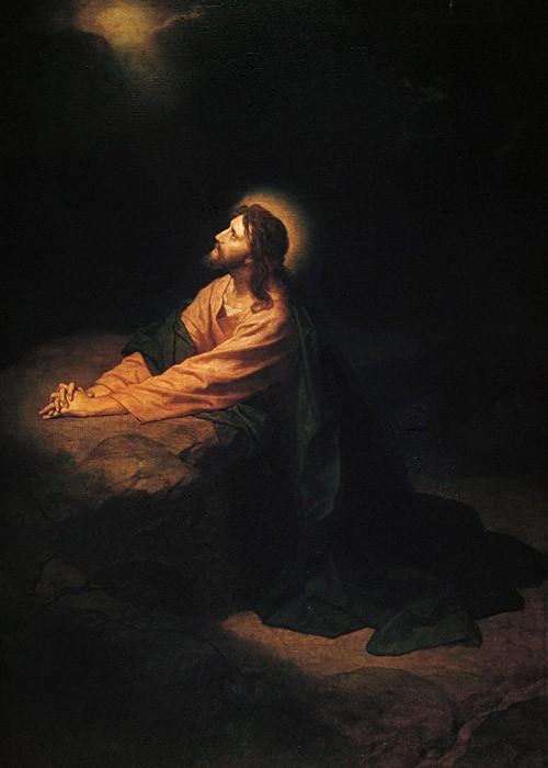 Heinrich Hofmann, Christ in Gethsemane (1886)