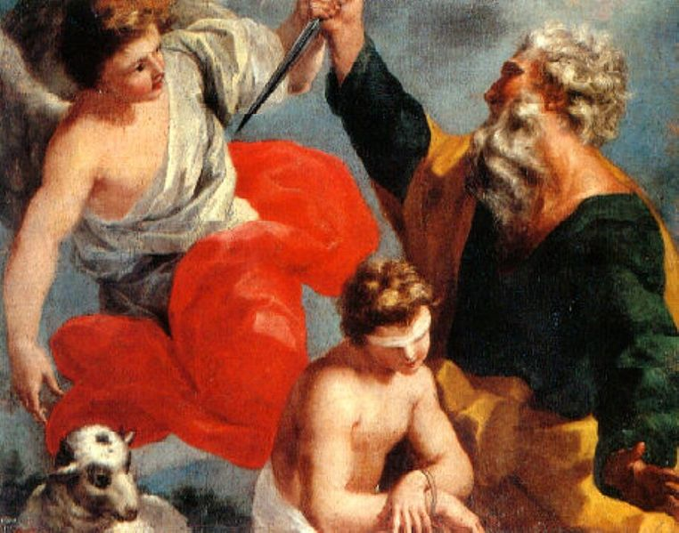Antonio Filocamo, The Sacrifice of Isaac (1712)