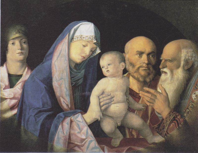 Giovanni Bellini, The Presentation in the Temple (1499)