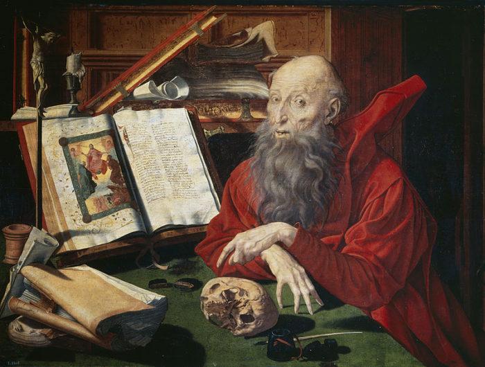 Marinus van Reymerswaele, St. Jerome (1541)