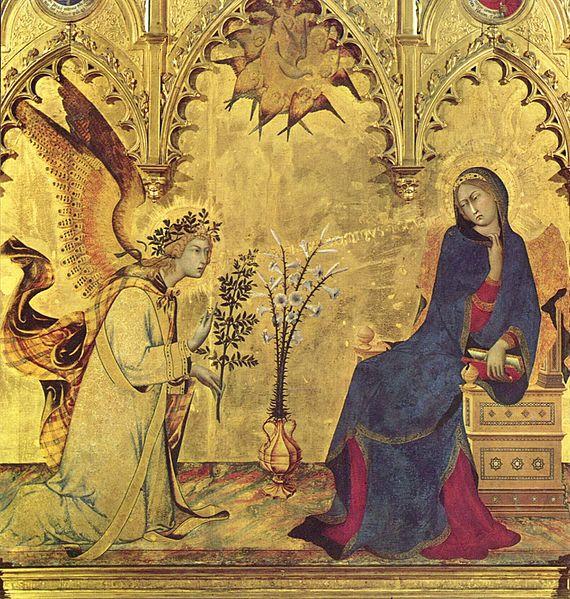 Simone Martini, Annunciation Triptych (1333)