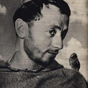Nazario Gerardi as St. Francis of Assisi, from the film Francesco, Giullare di Dio