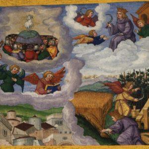 Matthias Gerung, The Triumph of the Lamb / The Fall of Babylon (1532)