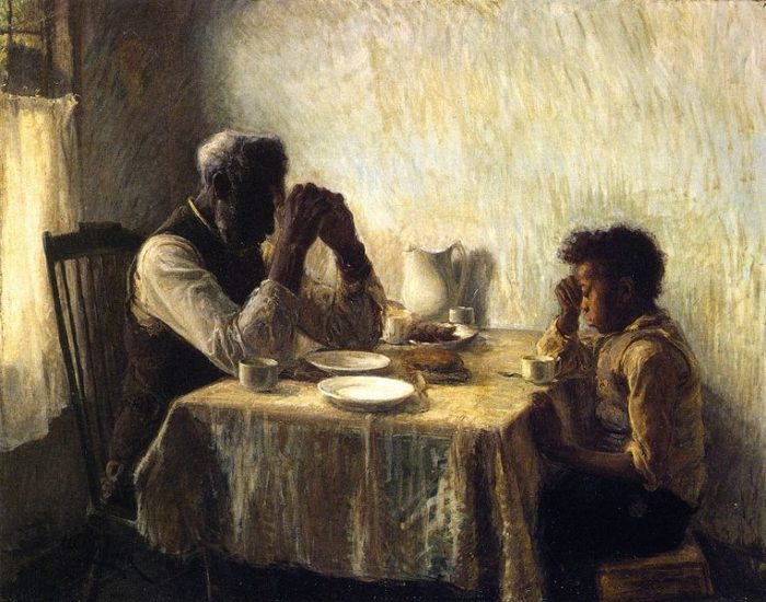 Henry Ossawa Tanner, The Thankful Poor (1894)