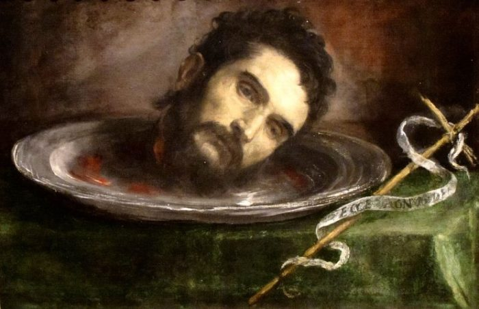 Head of Saint John the Baptist (17th c.)