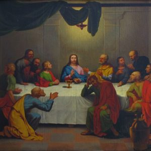 Georges Antoine Keman, The Last Supper (19th c.)