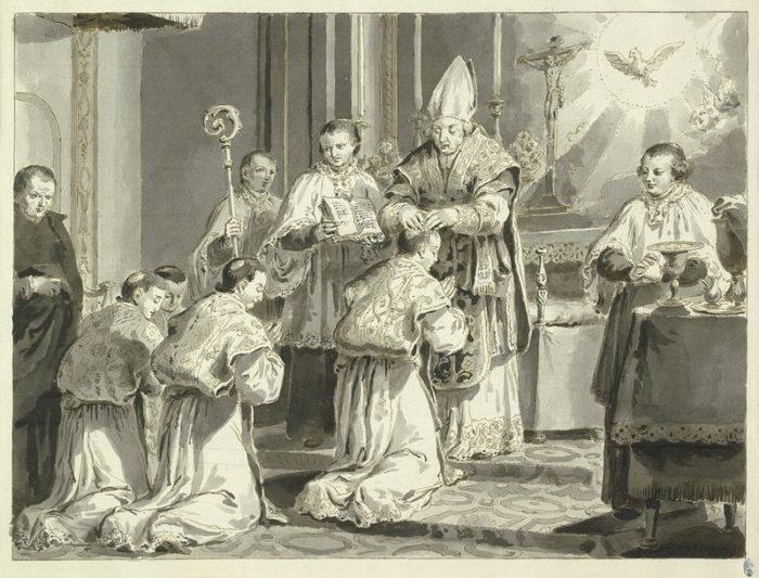 Pietro Antonio Novelli, Priesthood (1779)