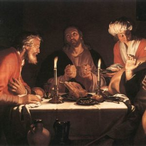 Abraham Bloemaert, The Emmaus Disciples (1622)