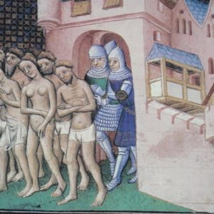 Expulsion of the Cathars from Carcassone in 1209 (1415)