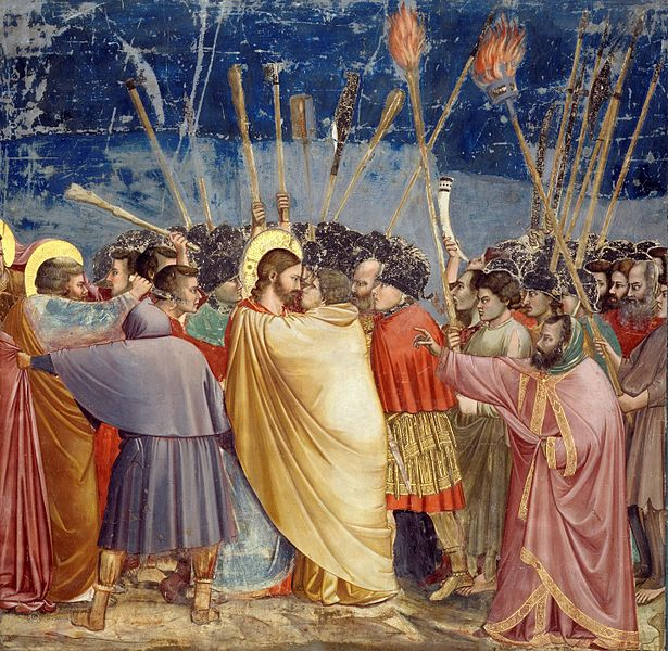 Giotto, Kiss of Judas (1306)