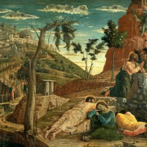 Andrea Mantegna, Agony in the Garden (1455)