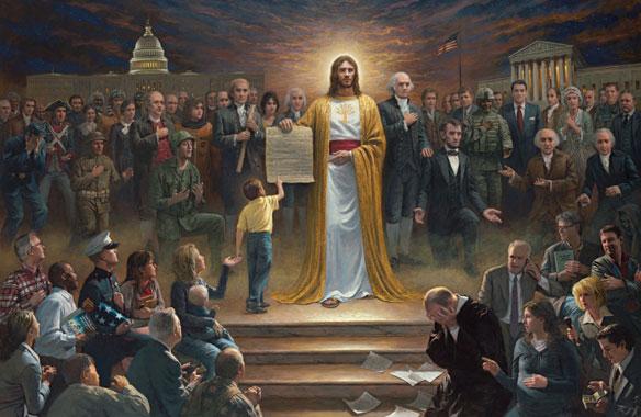Jon McNaughton, One Nation Under God