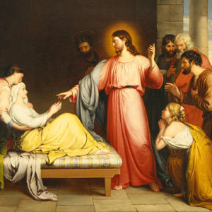 John Bridges, Christ Healing the Mother of Simon Peter's Wife (1839)
