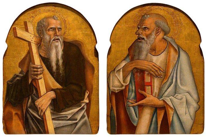 Carlo Crivelli, Two Apostles (1475)